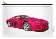 Ferrari F 512 M Russo 1995 Carry-all Pouch