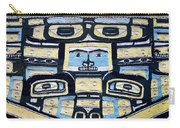 19th Century Chilkat Blanket Carry-all Pouch