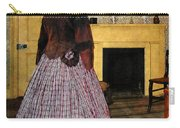 19th Century Plaid Dress Carry-all Pouch