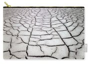 1a6832 Mud Cracks In Death Valley Carry-all Pouch