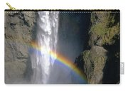 1m4716 Snoqualmie Falls And Rainbow Carry-all Pouch