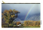 1m6345 Rainbow In Sierras Carry-all Pouch