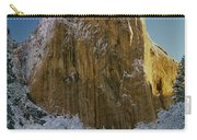 1m6576-winter On El Capitan In 1970 Carry-all Pouch
