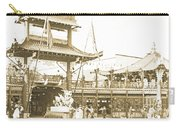 1904 Worlds Fair, Chinese Village Carry-all Pouch