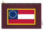 1st Confederate Flag Carry-all Pouch