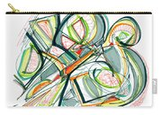 2010 Abstract Drawing Seventeen Carry-all Pouch