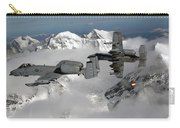 A-10 Thunderbolt IIs Fly Carry-all Pouch by Stocktrek Images