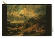 A Heath Painting Painted Originally Carry-all Pouch