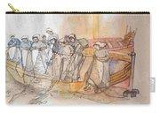 A Netherlands Handscroll Carry-all Pouch