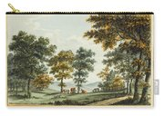 A Scene In The Garden At Brandsbury Carry-all Pouch