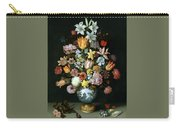 A Still Life Of Flowers Carry-all Pouch
