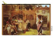 A Venetian Fan Seller Henry Woods Carry-all Pouch
