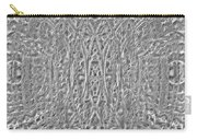 Abstract Black And White  Carry-all Pouch