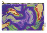 Abstract Fractal Background Carry-all Pouch