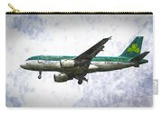 Aer Lingus Airbus A319 Art Carry-all Pouch