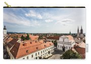 Aerial View Of Zagreb In Croatia Carry-all Pouch
