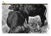 African Buffalo Carry-all Pouch