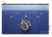 Aircraft Carrier Uss Ronald Reagan Carry-all Pouch
