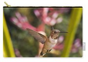 Allen's Hummingbird Carry-all Pouch by Mike Herdering