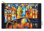 Amsterdam Carry-all Pouch by Leonid Afremov