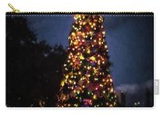 An Epcot Christmas Tree Carry-all Pouch