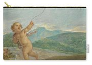 Angel Flying A Kite Carry-all Pouch