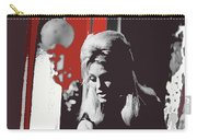 Angie Dickinson On Stage Number 2 Young Billy Young Set Old Tucson Arizona 1968-2013 Carry-all Pouch