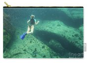 Apnea In Tropical Sea Carry-all Pouch