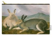 Arctic Hare Carry-all Pouch