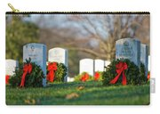 Arlington National Cemetery At Christmas Carry-all Pouch