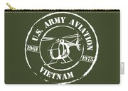 Army Aviation Vietnam Carry-all Pouch