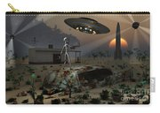 Artists Concept Of A Science Fiction Carry-all Pouch