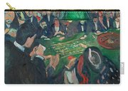 At The Roulette Table In Monte Carlo Carry-all Pouch