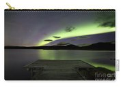 Aurora Borealis Over Thingvellir Iceland Carry-all Pouch