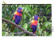Australia - Two Brightly Coloured Lorikeets Carry-all Pouch