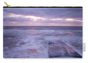 Ballyconnigar Strand At Dawn Carry-all Pouch
