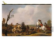 Battle Scene Carry-all Pouch