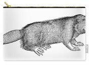 Beaver Carry-all Pouch