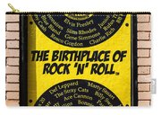 Birthplace Of Rock N Roll Carry-all Pouch