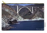 Bixby Creek Aka Rainbow Bridge Bridge Big Sur Photo  Carry-all Pouch