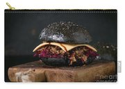 Black Burger With Stews Carry-all Pouch
