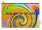 Spiraling Glass Quote Carry-all Pouch