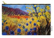 Blue Cornflowers Carry-all Pouch
