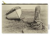 Boat At Porlock Weir. Carry-all Pouch