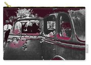 Bonnie And Clyde Death Car South Of Gibsland Toward Sailes Louisiana May 23 1933-2013 Carry-all Pouch