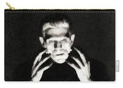 Boris Karloff As Frankenstein Carry-all Pouch