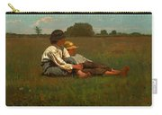 Boys In A Pasture Carry-all Pouch