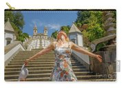 Braga Portugal Woman Carry-all Pouch