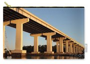 Bridge Pilings Carry-all Pouch