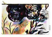 Butterfly Sketch Carry-all Pouch